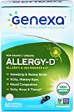 Genexa Allergy-D – 60 Tablets | Certified...