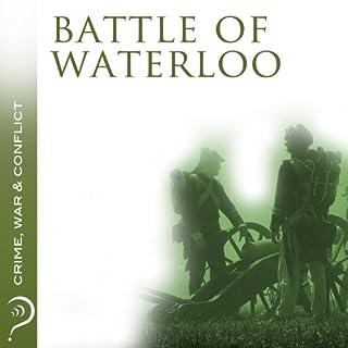 Battle of Waterloo audiobook cover art