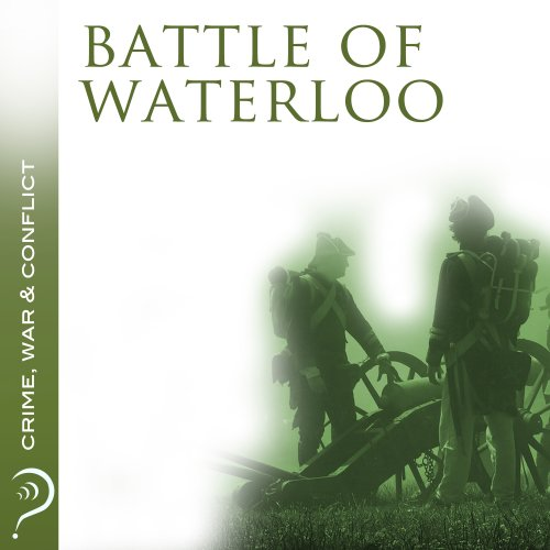 Battle of Waterloo audiobook cover art