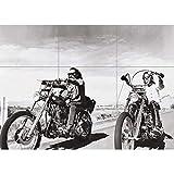 EASY RIDER CHOPPER MOTORCYCLE GIANT POSTER PLAKAT DRUCK