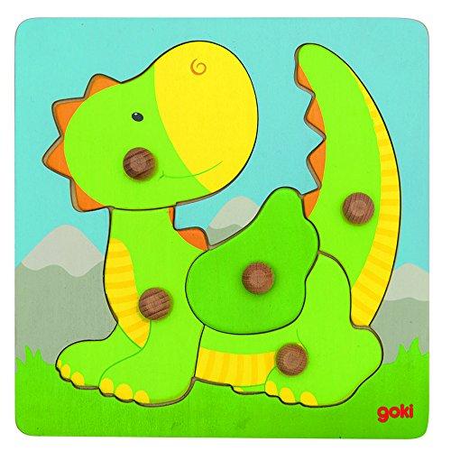 goki 57553 - Steckpuzzle - Drache