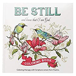 Be still inspirational coloring book