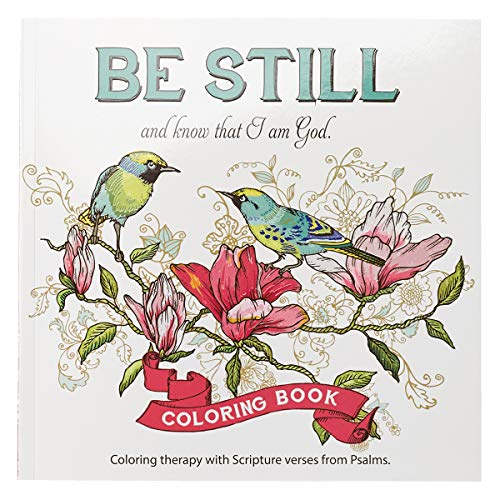 Be Still Inspirational Adult Coloring Therapy Featuring Psalms Buy Online In Israel At Desertcart Productid 21173920
