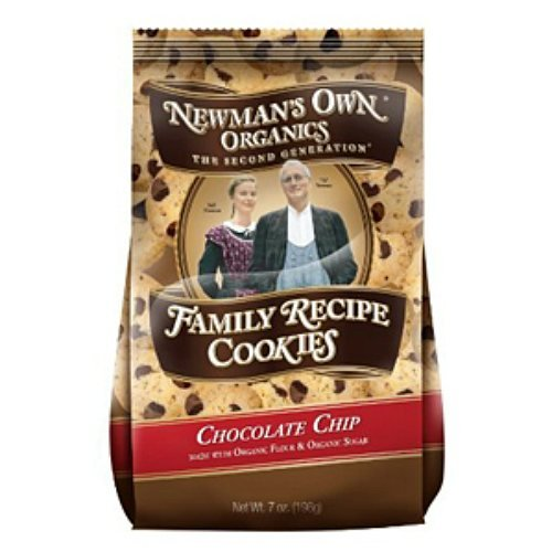 Newman's Own Organics 40% OFF Cheap Sale Family Recipe Cookies Spring new work one after another Chocolate Chip oz 7