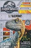 Valentines Day Classroom Exchange Gift   Jurassic World 32 Valentines & 32 Tattoos   Dinosaurs Tyrannosaurus Triceratops Velociraptor   8 Designs   Kids DIY DayCare Homeschooling Sunday School