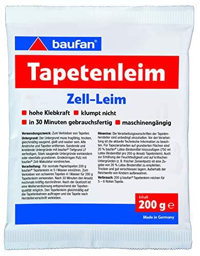 Baufan Tapetenleim, mit hoher Klebkraft, 200 g