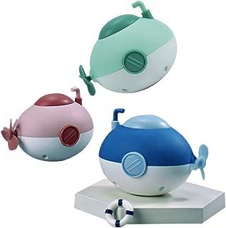 Anjetan 3PCS Wind up Submarine Bath Toy Funny Floating Pool Toy Bathtub Toy Swimming Toy for Kids Toy Submarine for Bathtu...