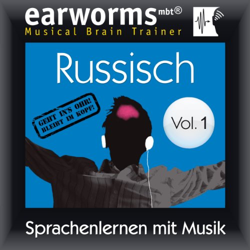 Russisch (vol.1): Lernen mit Musik audiobook cover art