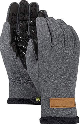 Burton Womens Sapphire Glove, True Black Heather, Large