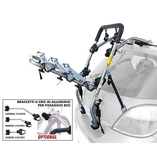 portabici per auto posteriore universale decathlon