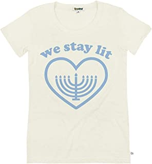 Tipsy Elves Women's Holiday Graphic Tees - Funny Hanukkah T-Shirts