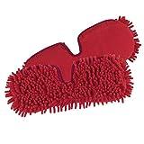 Cleanmaxx Balai Vaporisateur Flexible Rouge (Balai réversible Pratique pour Nettoyage à l'Eau ou...