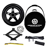 Complete Spare Tire Kit w/ Carrying Case & Wheel Spacer - Fits 2008-2021 Dodge Challenger - Modern Spare