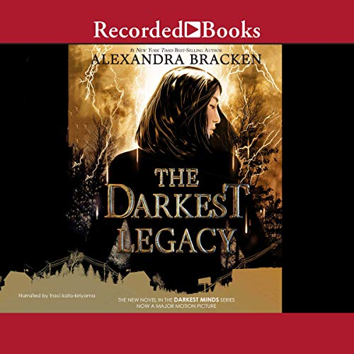 The Darkest Legacy audiobook cover art