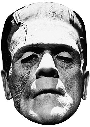 Cardboard Frankenstein Mask