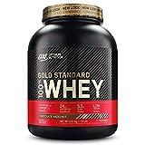 Optimum Nutrition ON Gold Standard 100% Whey Proteína en Polvo, Glutamina y Aminoácidos Naturales, BCAA, Chocolate y Avellana, 71 Porciones, 2.27kg, Embalaje Puede Variar