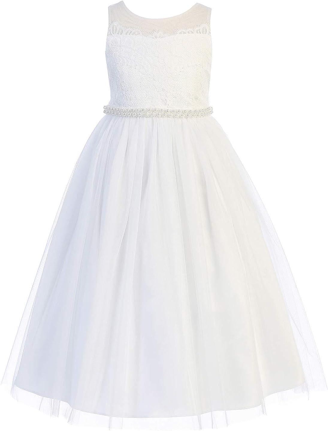 BluNight Flower Girl First Communion Pageant Wedding Birthday Party Girl Dress