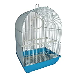 Heritage Cages FPO025 Kendal Bird Cage Budgie Finch Canary 35 x 28 x 46cm Pet Home