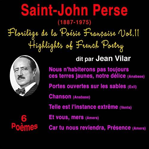 Couverture de Saint-John Perse