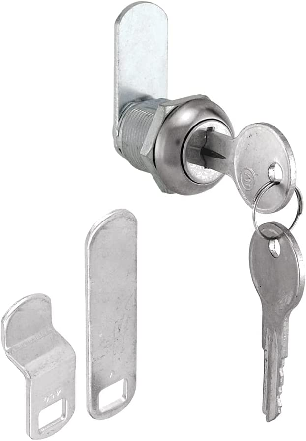 Prime-Line MP4539 Cabinet shopping Lock 7 8 in with wholesale Steel Diecast Cams