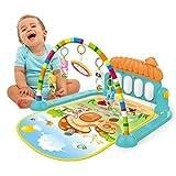 Tabu Toys World Baby Kick and Play Musical Keyboard Mat Piano Gym