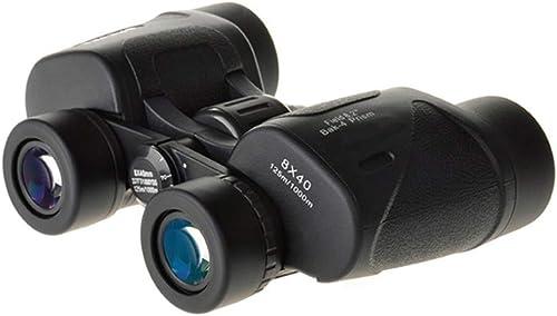 Gimitunus Jumelles compactes d'observation des Oiseaux de télescope Compact, télescope Anti-buée imperméable pour Le Tourisme de Plein air voyageant Le Jeu de Chasse (Taille   8x40)