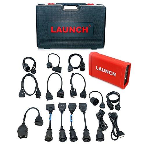 Autool Launch X431 HD Heavy Duty Diesel diagnóstico del carro de Trabajo Módulo V + Para X431, X431 Pro3, PAD II Software Libre Online Update
