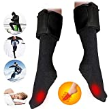 Highpot Men's and Women's Winter Warm Thick Heating Foot Warmer Boot Thermal Electric