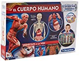 Clementoni-The Human Body, Multi-Colour, One Size (550890)
