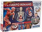 Clementoni-El Cuerpo Humano, Multicolor, Talla Única (550890)