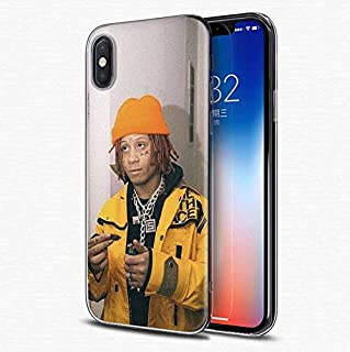 Inspired by Trippie Redd Phone Case Compatible With Iphone 7 XR 6s Plus 6 X 8 9 11 Cases Pro XS Max Clear Iphones Cases TPU- Skateboard- Youth- Grillz- Keychains- Keychains- 32982310836