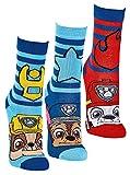 FussFre&e Paw Patrol 6er Pack Jungen Socken Strümpfe vielen verschiedenen Muster & Designs (6 Paar = 3 Motive, numeric_23)