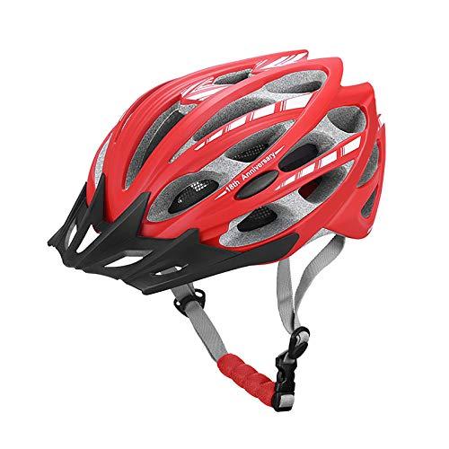 Jie Du - Casco de bicicleta con pantalla de insectos para bicicleta...