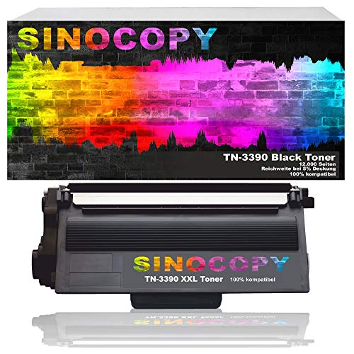 SinoCopy XXL Toner TN-3390 für Brother MFC-8950DW / HL-6180DW / DCP-8250DN / MFC-8910DW / HL-6180DWT / MFC-8950DWT