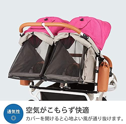 AirBuggy(エアバギー)ココダブルEXフロムバースアースブルー0か月~(保証付き)ABFB5001