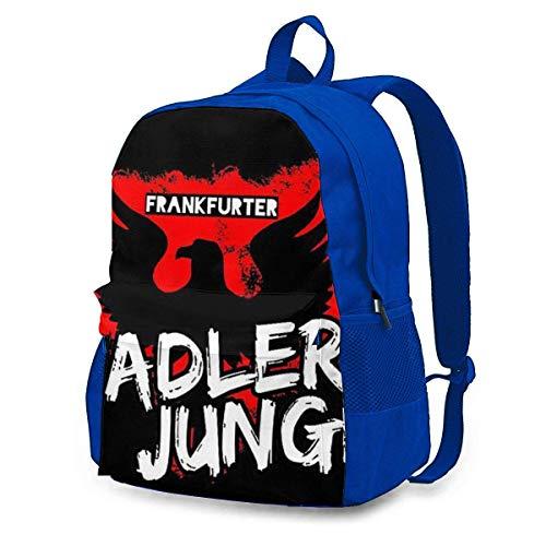 FGHJY CHENWE Frankfurter ADLERJUNGE - Eintracht Adult Classic Rucksack Outdoor Freizeitrucksack Studententasche