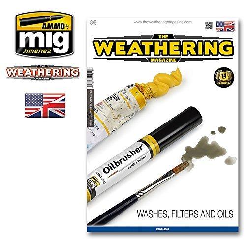 Ammo of Mig Jimenez The Weathering Magazine 17 Washes Filters Oils English #4516