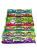 Sour Punch Straws Assortment - 1 2 oz pack of Grape Apple Blue Raspberry Cherry Rainbow Strawberry Watermelon with Refrigerator Magnet