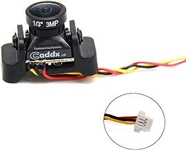 Caddx Micro FPV Camera EOS2 Turbo EOS2 4:3 1200TVL 2.1mm FOV 160 Degree 1/3 CMOS NTSC for FPV Quadcopter Racing Drone (EOS2 Turbo)