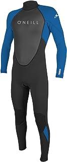 ONEILL WETSUITS 男孩青少年 Reactor Ii 3/2 毫米 后拉链全湿套装