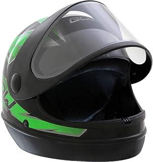 X Capacete Interlagos Preto/Verde Gow 58