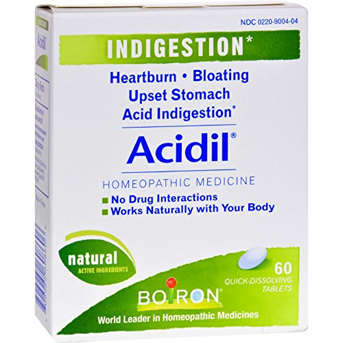 Boiron Acidil - for Indigestion, Sour Stomach and...