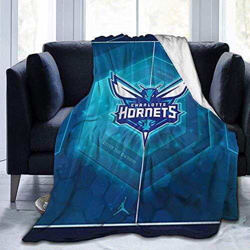 Manta de baloncesto de moda, adecuada para sofá, sala de estar, camping, cine frío o viajes.