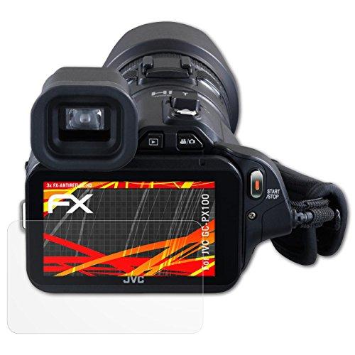 Bruni 2x Lámina Protectora para GoPro Hero4 Black Película Protectora