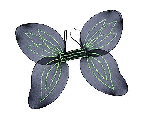 Aile Ange Adulte Ailes Accessoire pour Noël Nativité Panto Déguisement ailes Angel les ailes. Adulte Noir