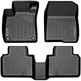 OEDRO Floor Mats Compatible with 2018-2020 Honda Accord, Black TPE Front & 2nd Row All Weather Liner...