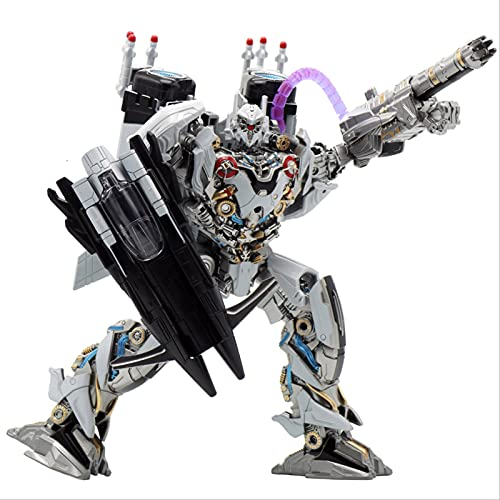 bolin 25cm Juguete De Transformación Nitro Zeus Fighter Figuras De Acción Modelo Abs Aleación Deformación Coche Robot