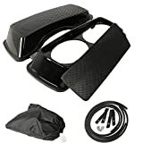 TCMT Dual 6x9 Speaker Lids Fits For Harley Touring Saddlebag Road King Street Glide 93-13