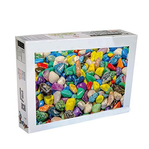 HongTeng-Puzzles Übergroße 6000 Stück aus Holz-Erwachsenen-Puzzles, 1000 Stück farbige Steinkinder-Pädagogs, Kinder intellektuellen Herausforderungsrätseln (Size : 6000 Tablets)
