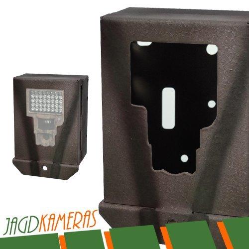 DÖRR Metallschutzgehäuse für Snapshot PRO und DUAL Light + Messer + LED Taschenlampe Wildkamera Jagdkamera Überwachungskamera Diebstahlschutz